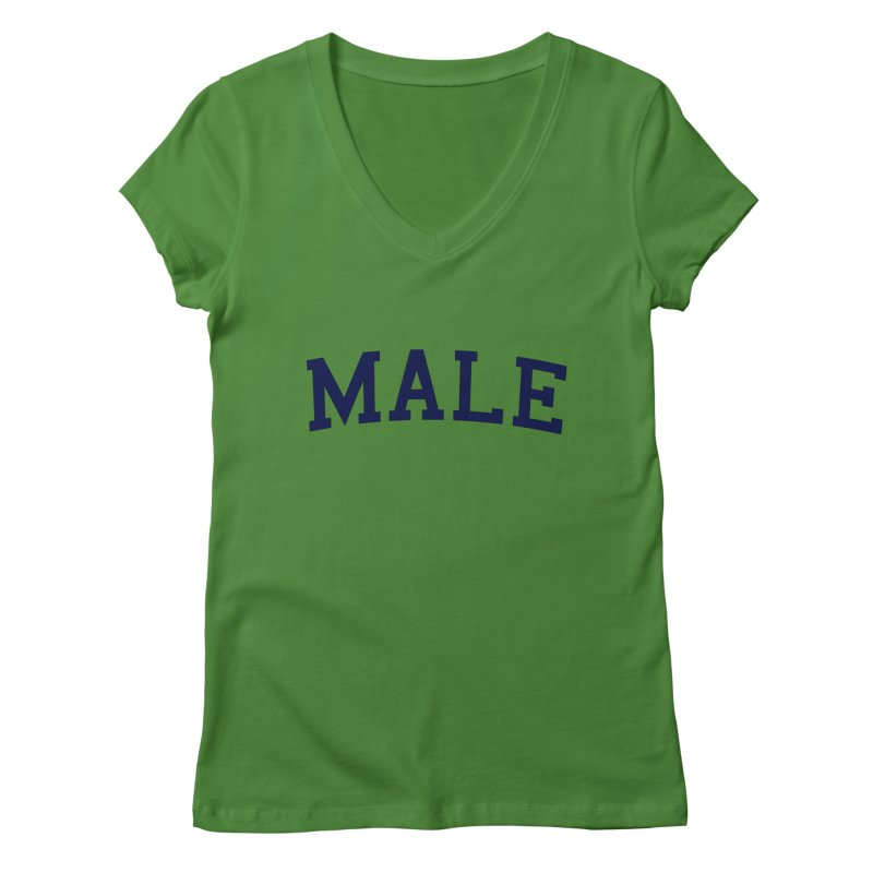 Male Women's V-Neck by 8 TV Artist Shop