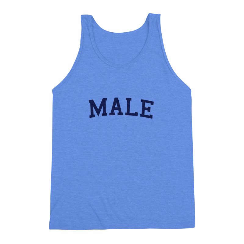 Male Men's Triblend Tank by 8 TV Artist Shop