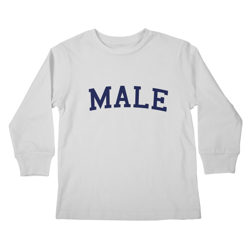 Male Kids Longsleeve T-Shirt by 8 TV Artist Shop