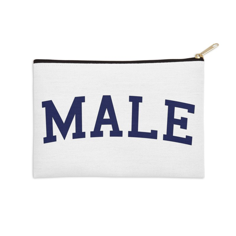 Male Accessories Zip Pouch by 8 TV Artist Shop