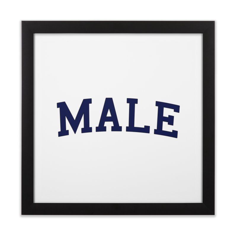 Male Home Framed Fine Art Print by 8 TV Artist Shop