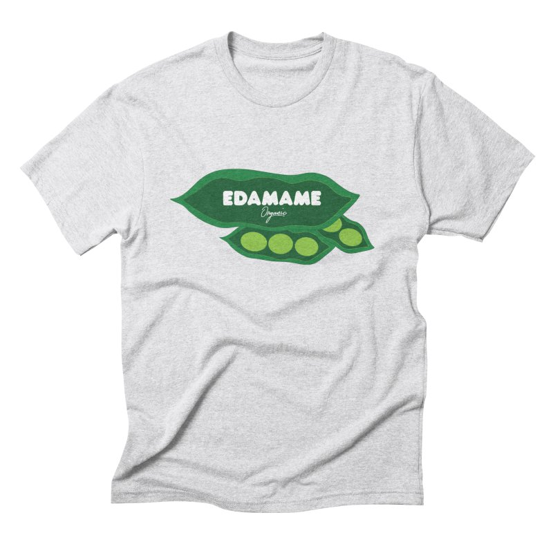 eDaMaMe! in Men's Triblend T-Shirt Heather White by 8 TV Artist Shop
