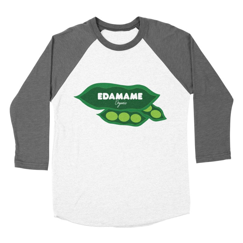 eDaMaMe! Women's Baseball Triblend Longsleeve T-Shirt by 8 TV Artist Shop