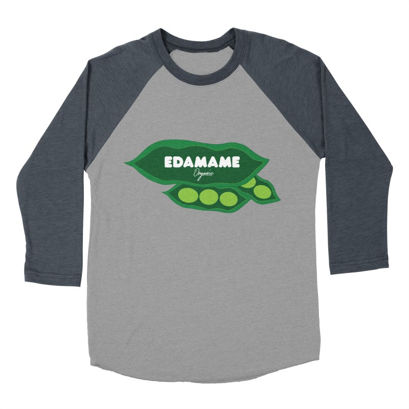 eDaMaMe! Women's Baseball Triblend T-Shirt by 8 TV Artist Shop