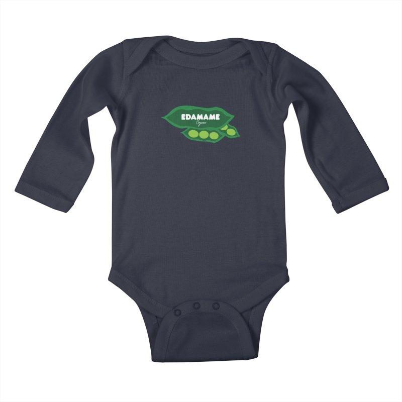 eDaMaMe! Kids Baby Longsleeve Bodysuit by 8 TV Artist Shop