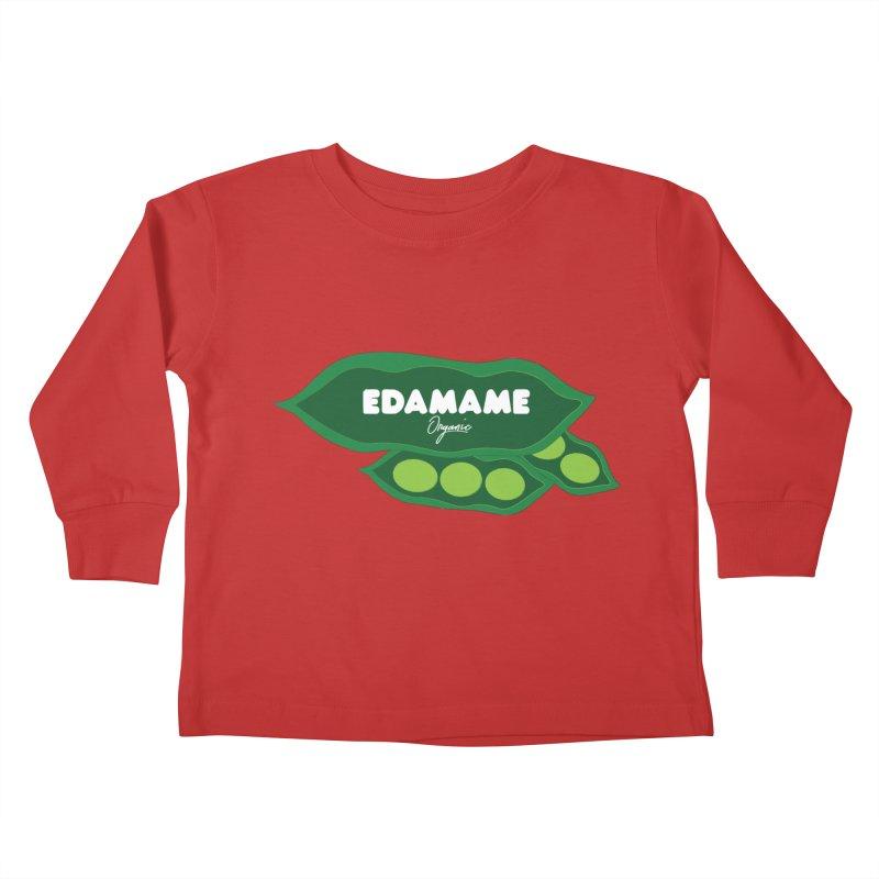 eDaMaMe! Kids Toddler Longsleeve T-Shirt by 8 TV Artist Shop