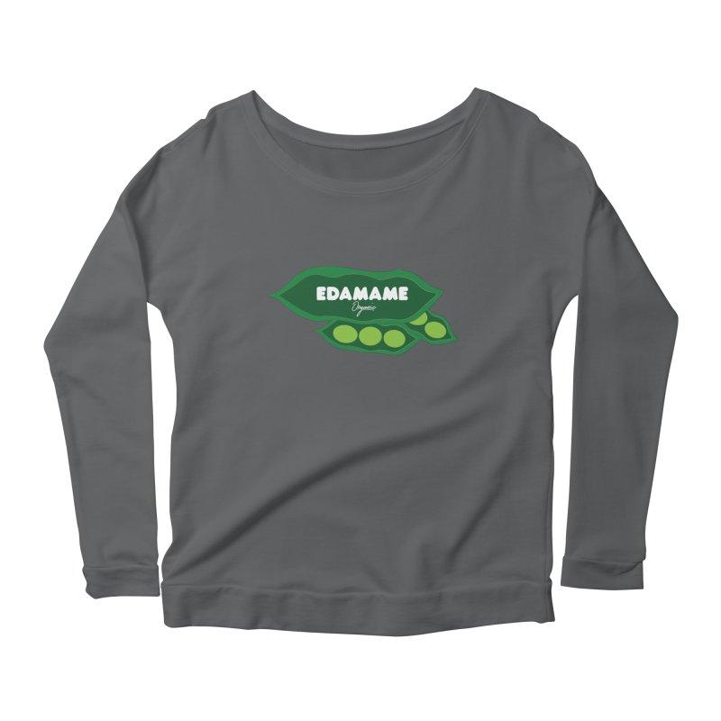 eDaMaMe! Women's Scoop Neck Longsleeve T-Shirt by 8 TV Artist Shop