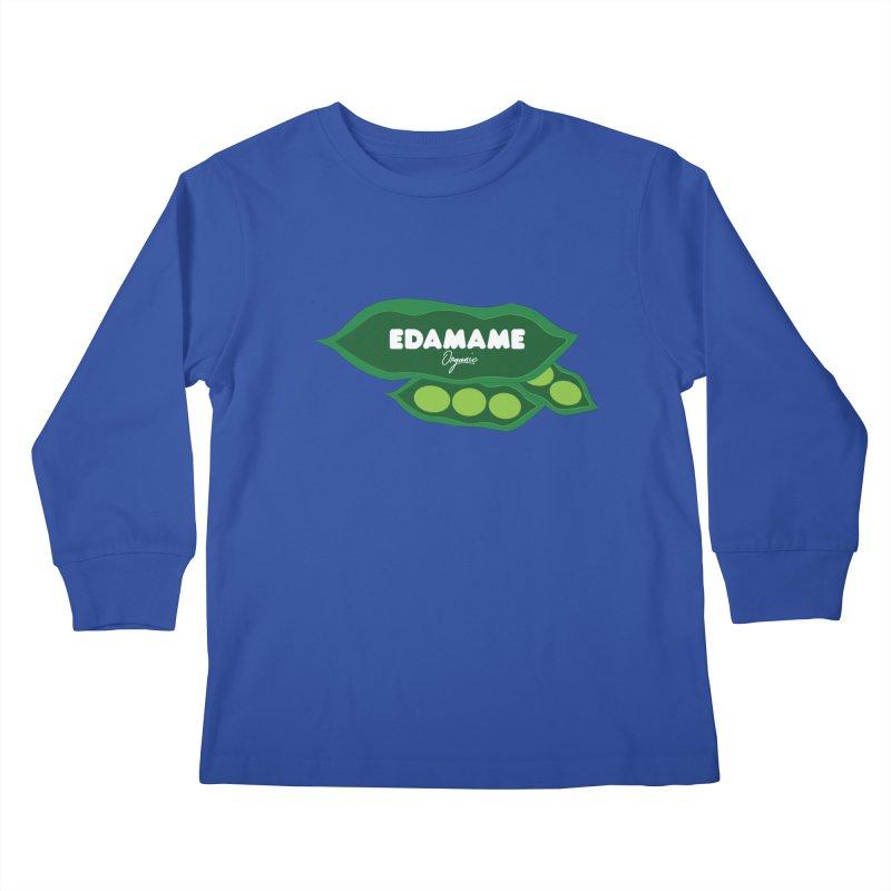 eDaMaMe! Kids Longsleeve T-Shirt by 8 TV Artist Shop