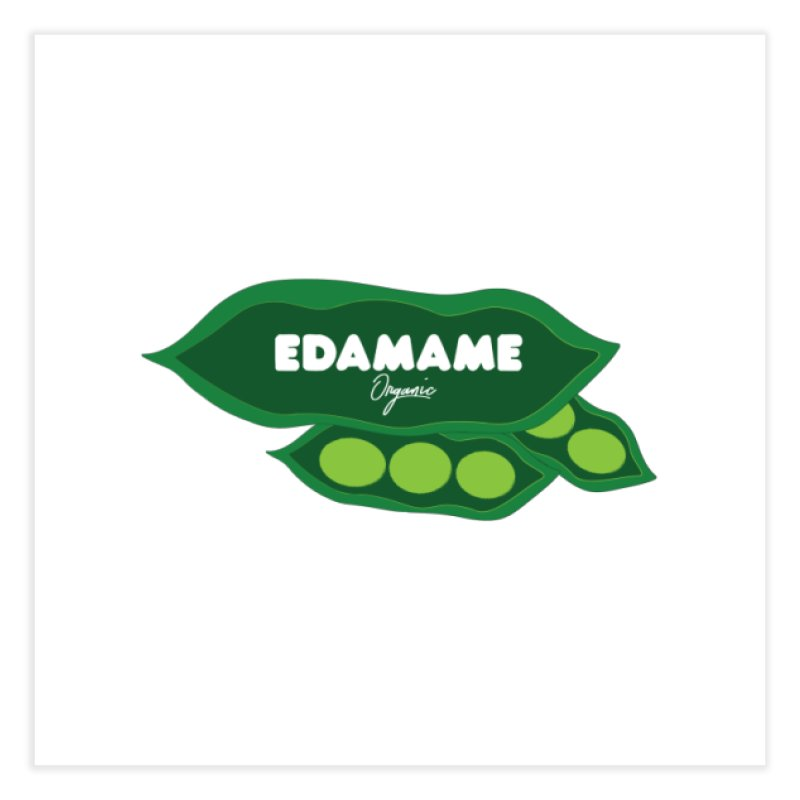 eDaMaMe! Home Fine Art Print by 8 TV Artist Shop