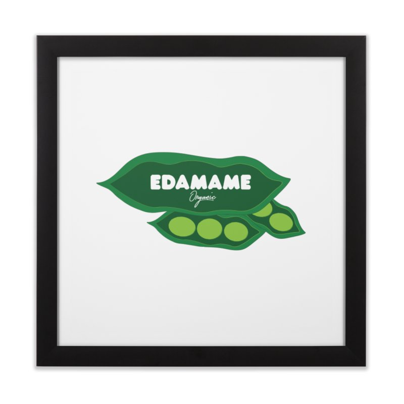 eDaMaMe! Home Framed Fine Art Print by 8 TV Artist Shop