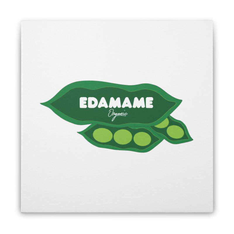 eDaMaMe! Home Stretched Canvas by 8 TV Artist Shop