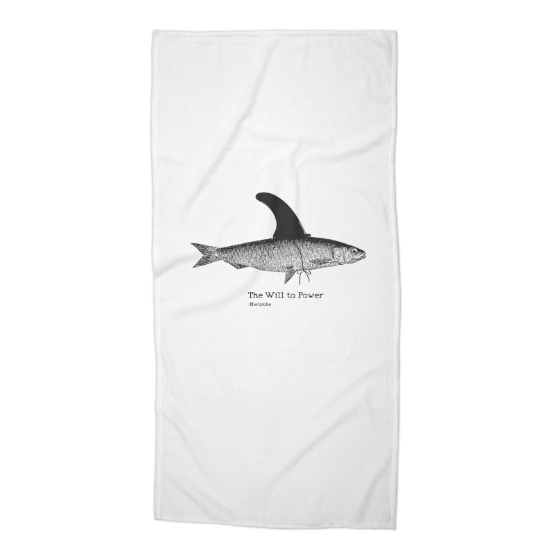 The will to power Accessories Beach Towel by 8 TV Artist Shop