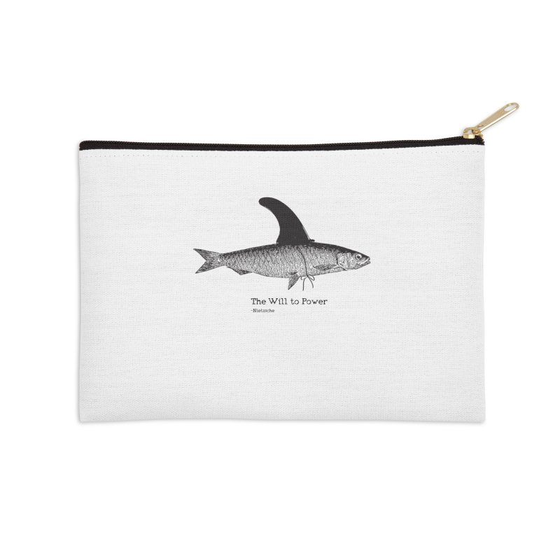The will to power Accessories Zip Pouch by 8 TV Artist Shop