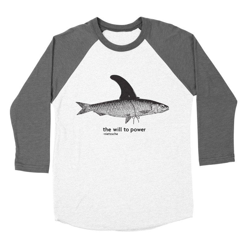 The will to power Men's Baseball Triblend T-Shirt by 8 TV Artist Shop