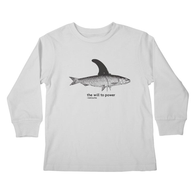 The will to power Kids Longsleeve T-Shirt by 8 TV Artist Shop