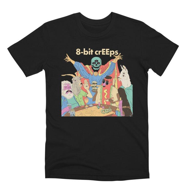SLP BLKOUT in Men's Premium T-Shirt Black by 8-bit crEEps Merch Shop