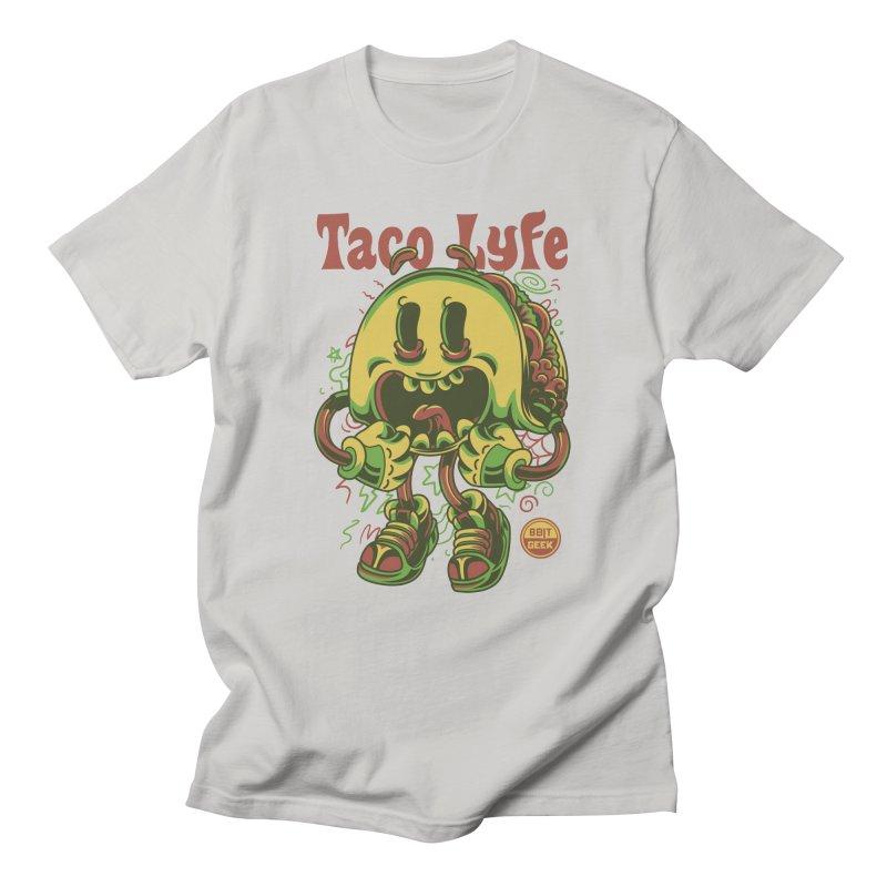 Taco Lyfe Men's T-Shirt by 8bit Geek's Artist Shop