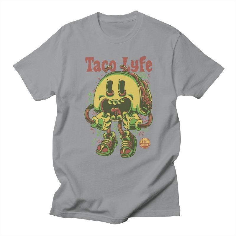 Taco Lyfe Men's Regular T-Shirt by 8bit Geek's Artist Shop