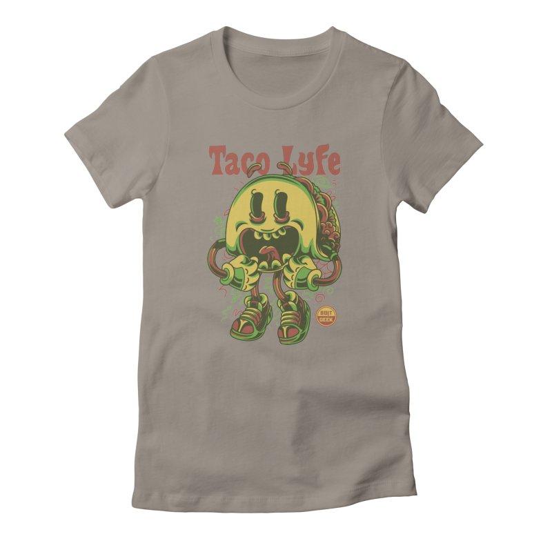 Taco Lyfe Women's T-Shirt by 8bit Geek's Artist Shop