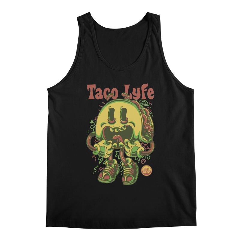 Taco Lyfe Men's Regular Tank by 8bit Geek's Artist Shop