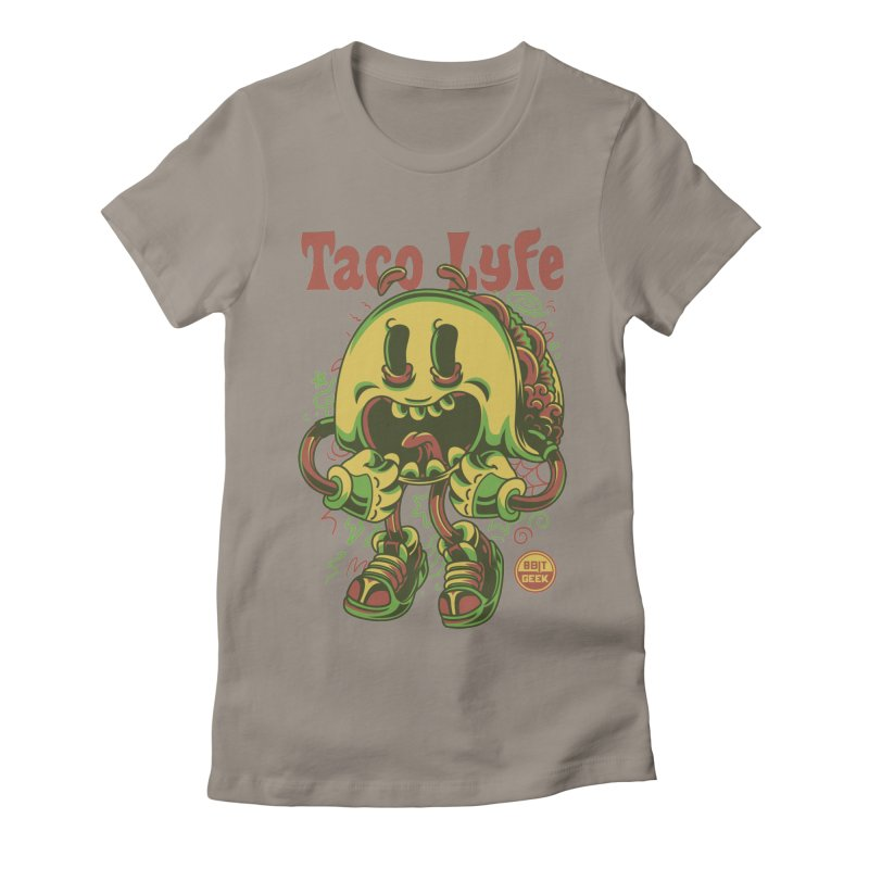 Taco Lyfe Women's T-Shirt by 8bit Geek's Artist Shop