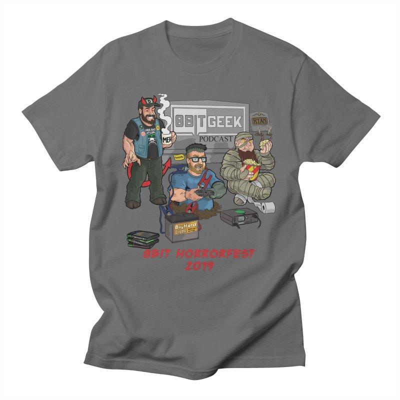 8bit horrorfest 2019 Men's T-Shirt by 8bit Geek's Artist Shop