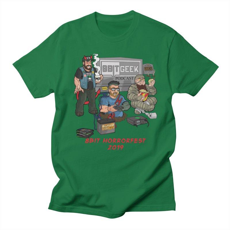 8bit horrorfest 2019 Men's Regular T-Shirt by 8bit Geek's Artist Shop