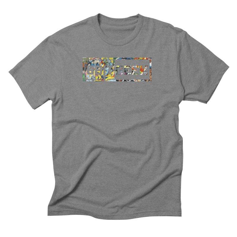 Comic  Men's Triblend T-Shirt by 8bitgeek's Artist Shop