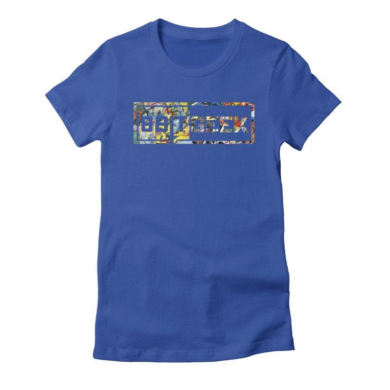 Comic  Women's Fitted T-Shirt by 8bitgeek's Artist Shop