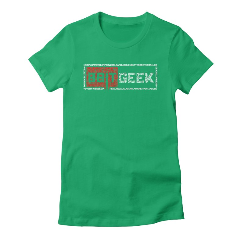 Hashtag Women's Fitted T-Shirt by 8bitgeek's Artist Shop