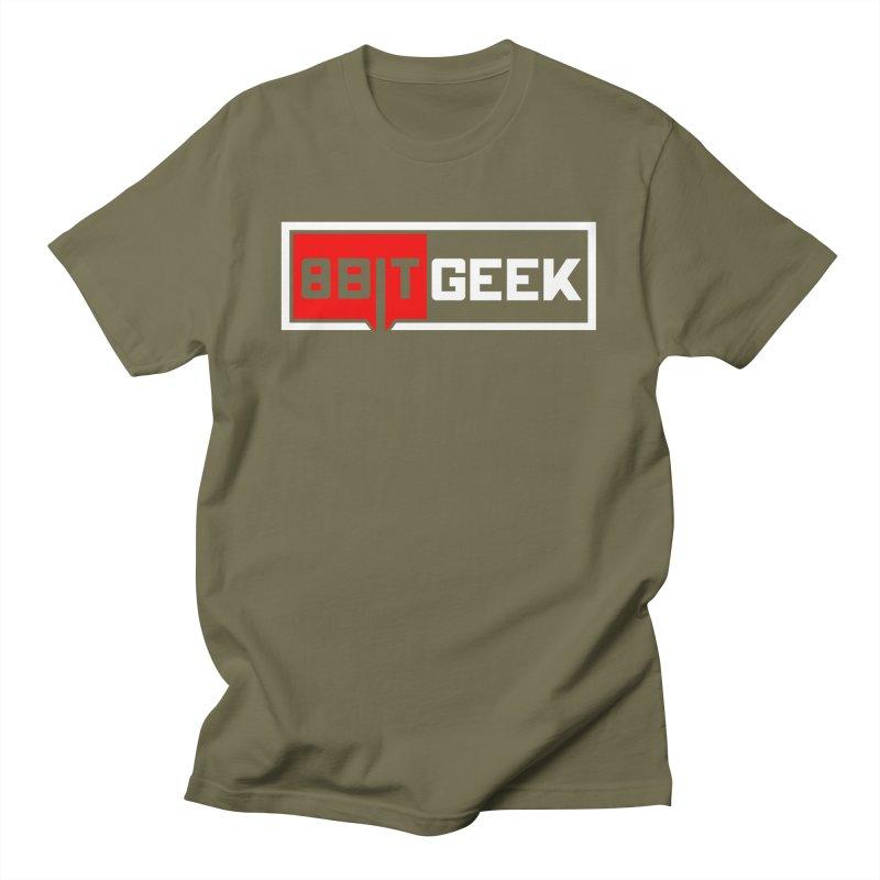 8bit Geek Men's T-Shirt by 8bit Geek's Artist Shop