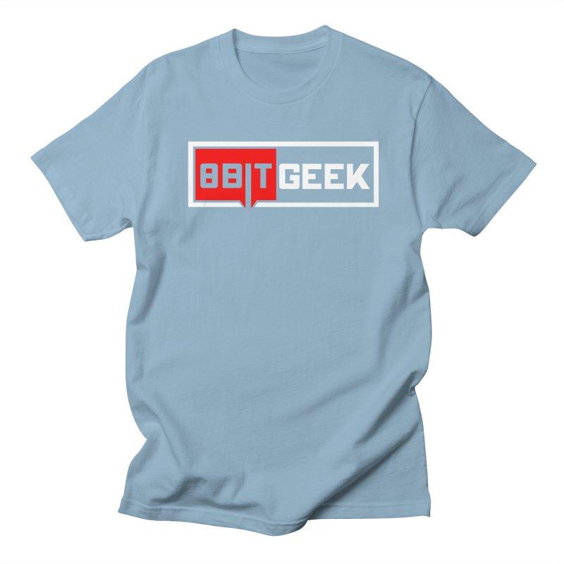 8bit Geek Men's T-Shirt by 8bitgeek's Artist Shop
