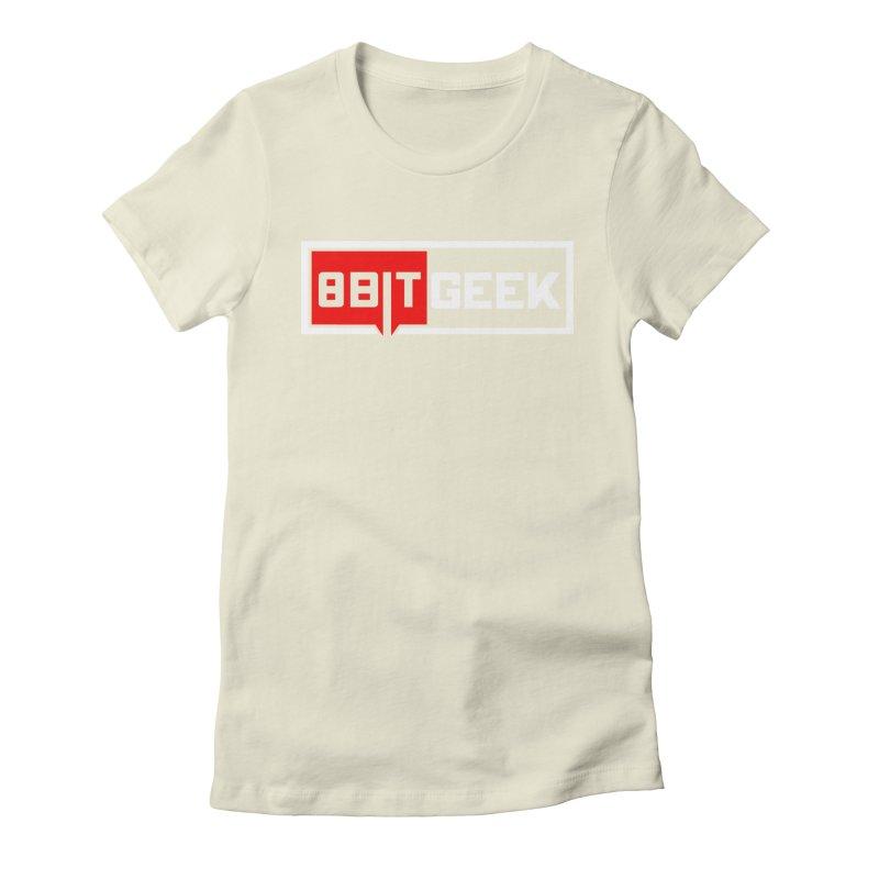 8bit Geek Women's Fitted T-Shirt by 8bitgeek's Artist Shop