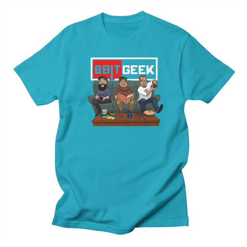 The Crew Men's T-Shirt by 8bit Geek's Artist Shop