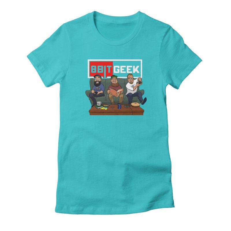The Crew Women's T-Shirt by 8bit Geek's Artist Shop