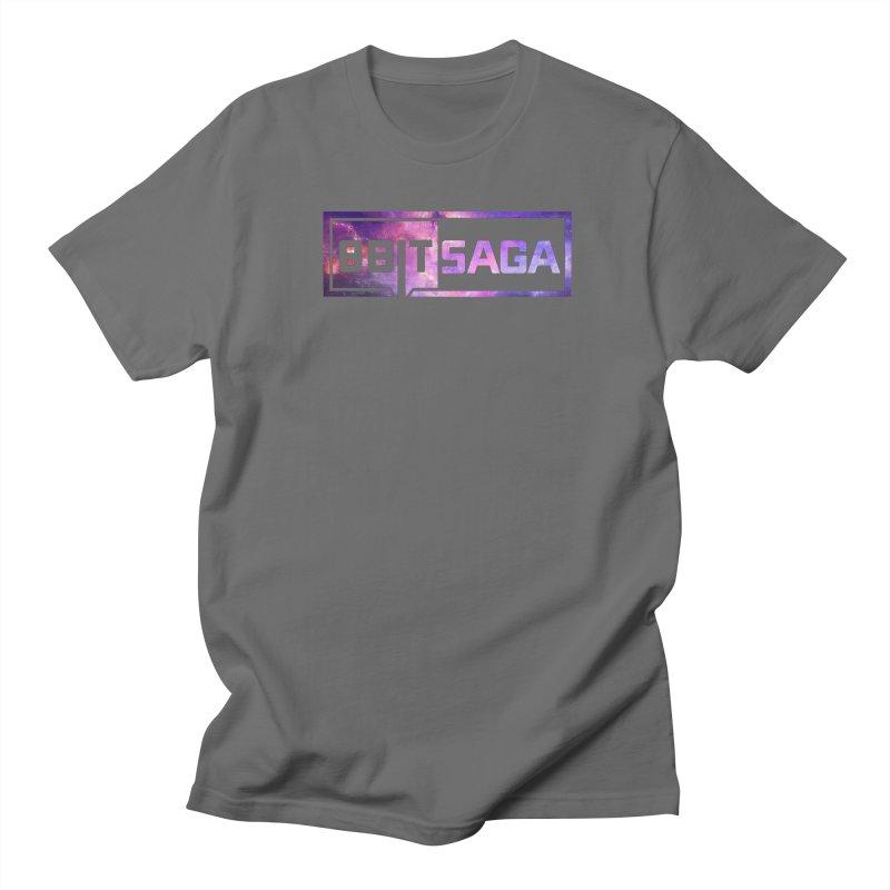 Saga  Men's T-Shirt by 8bit Geek's Artist Shop
