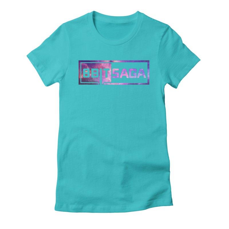 Saga  Women's Fitted T-Shirt by 8bit Geek's Artist Shop