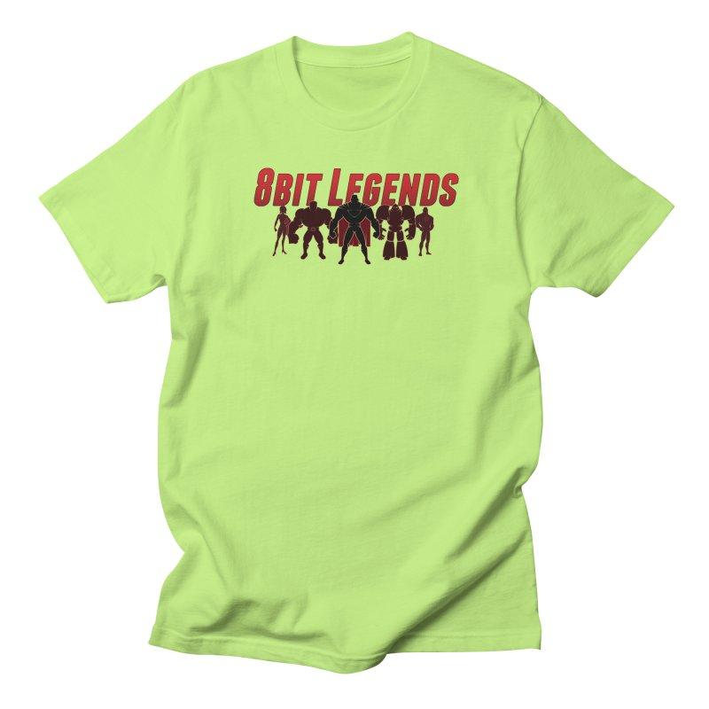 Legends  Men's T-shirt by 8bitgeek's Artist Shop