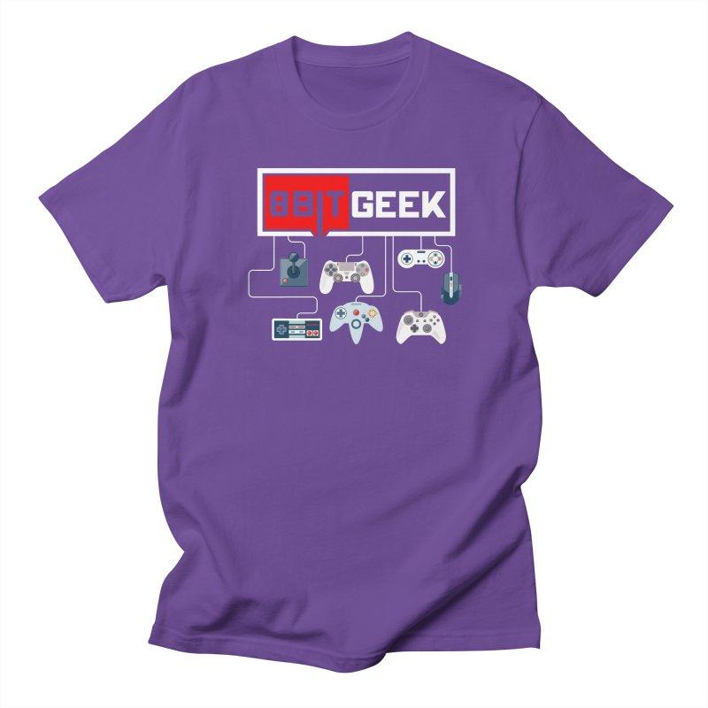 8bit Gamer Men's T-Shirt by 8bit Geek's Artist Shop