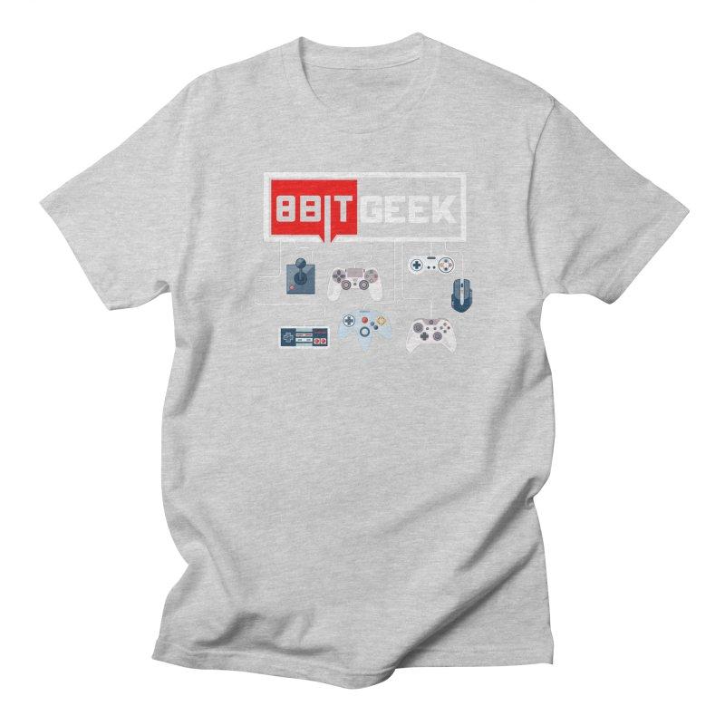 8bit Gamer Men's T-Shirt by 8bitgeek's Artist Shop