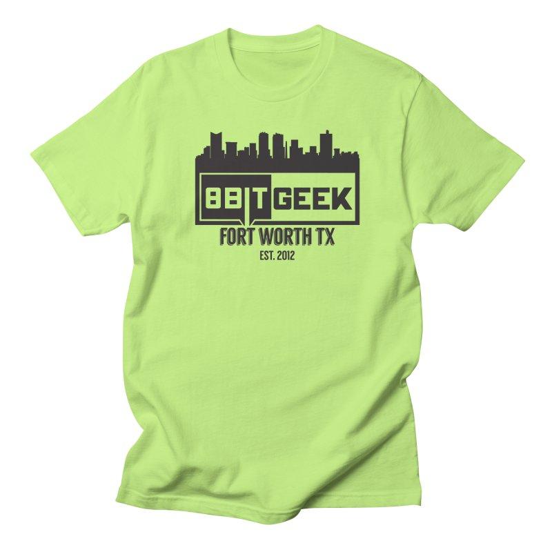 Home Town  Men's T-Shirt by 8bit Geek's Artist Shop