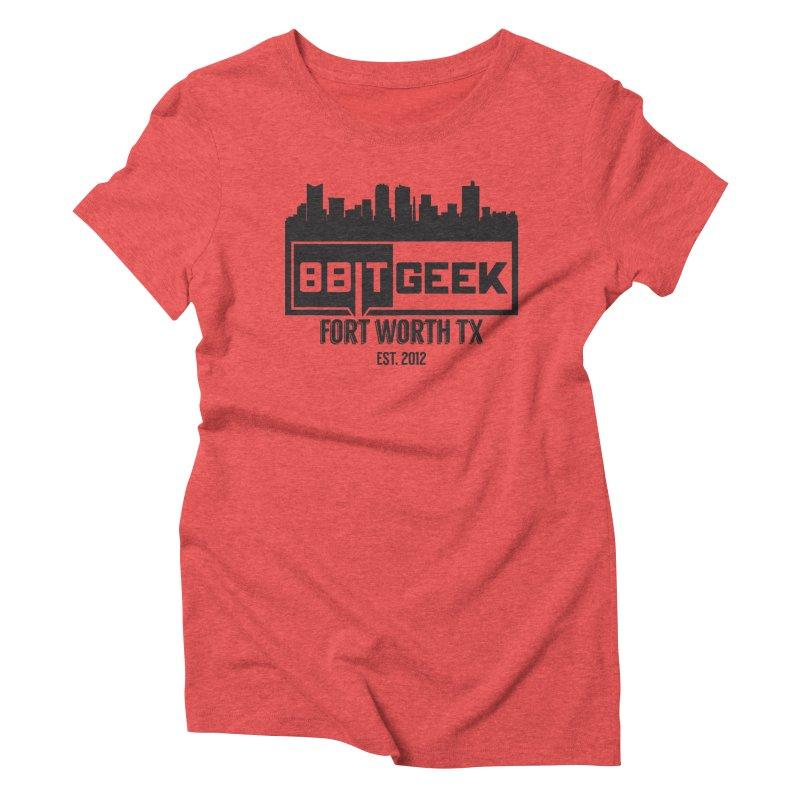 Home Town  Women's Triblend T-Shirt by 8bitgeek's Artist Shop