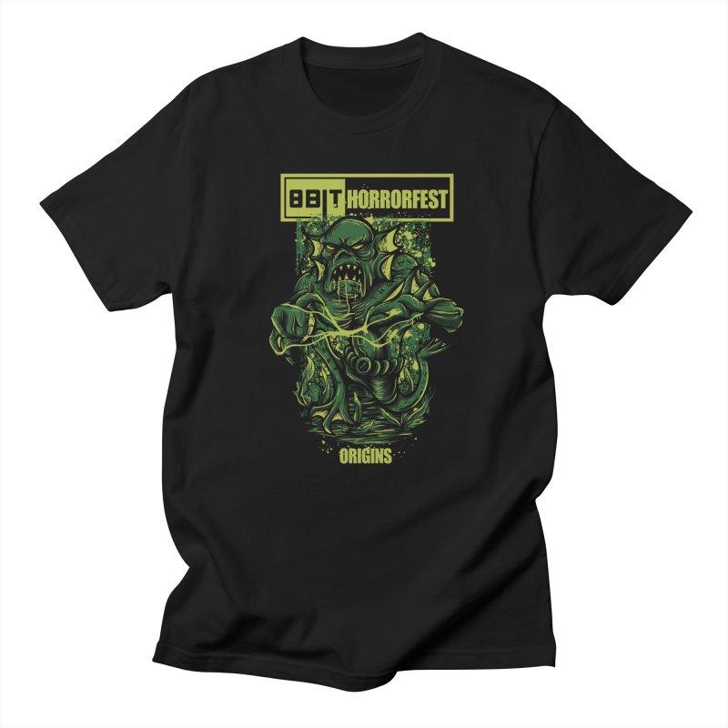 8bit Horrorfest 2017 Men's T-shirt by 8bitgeek's Artist Shop