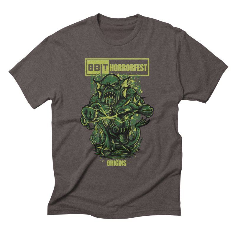 8bit Horrorfest 2017 Men's Triblend T-shirt by 8bitgeek's Artist Shop