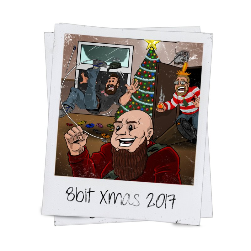 8bit Xmas 2017: Alone at Home by 8bitgeek's Artist Shop