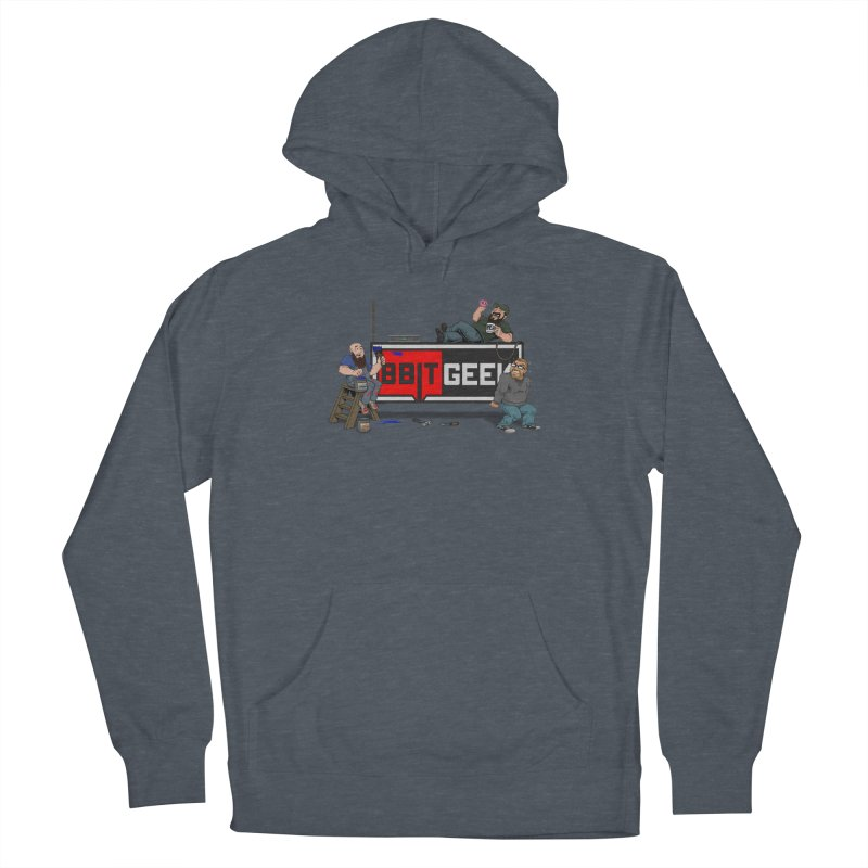 Under Construction Men's Pullover Hoody by 8bit Geek's Artist Shop