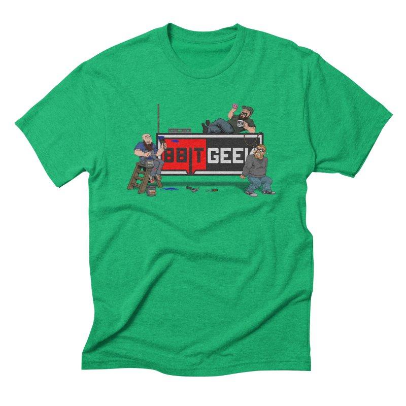 Under Construction Men's T-Shirt by 8bit Geek's Artist Shop