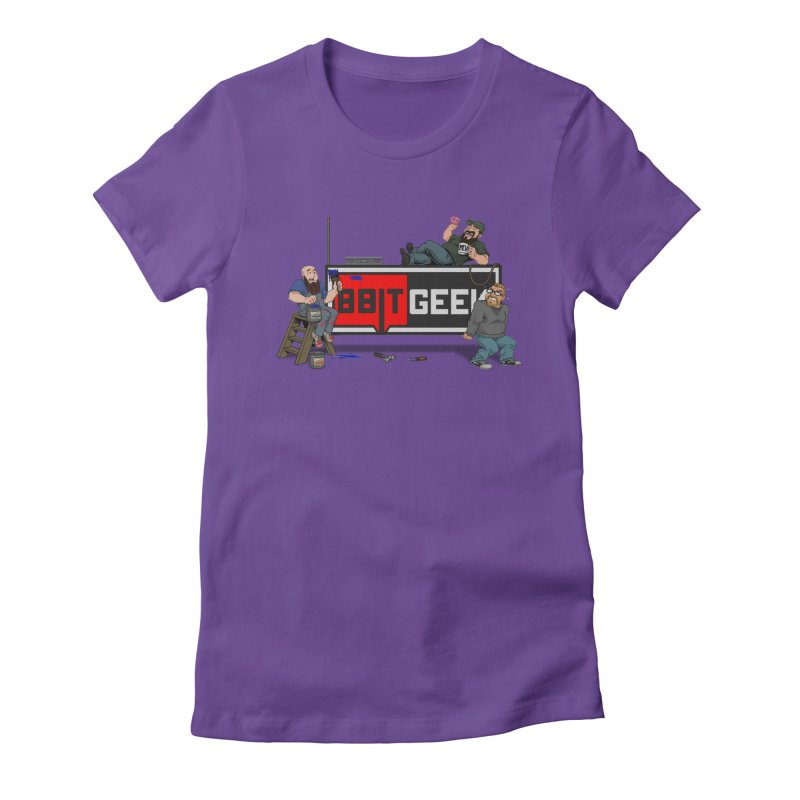 Under Construction Women's T-Shirt by 8bit Geek's Artist Shop