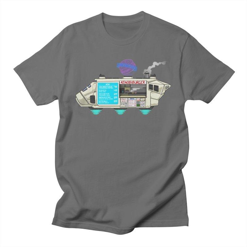 KenobiBurger Men's T-Shirt by 8bit Geek's Artist Shop