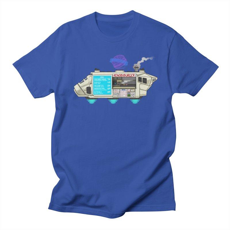 KenobiBurger Men's T-Shirt by 8bitgeek's Artist Shop